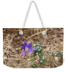 Weekender Tote Bag featuring the photograph Cousins by Marie Neder