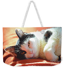 Cover Girl Weekender Tote Bag by Jesse Ciazza