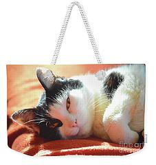 Cover Girl Weekender Tote Bag