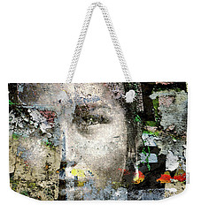 Cover Up #1 Weekender Tote Bag by Ed Hall