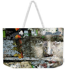 Cover Up #2 Weekender Tote Bag by Ed Hall