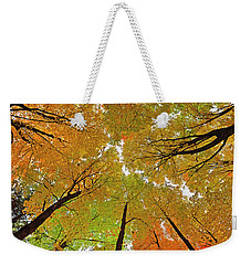 Weekender Tote Bag featuring the photograph Cover Up by Tony Beck