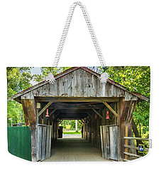 Covered Bridge Hdr Weekender Tote Bag