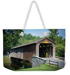 Covered Bridge Weekender Tote Bag by Kenneth Cole