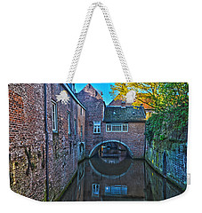 Covered Canal In Den Bosch Weekender Tote Bag
