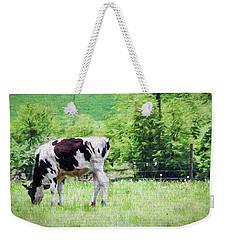 Cow Grazing Weekender Tote Bag