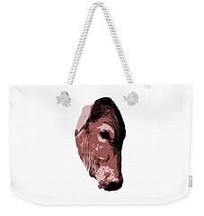 Cow Head Weekender Tote Bag