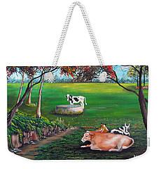 Cow Tales Weekender Tote Bag