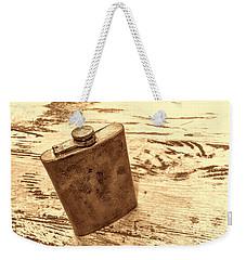 Cowboy Energy Drink Weekender Tote Bag by American West Legend By Olivier Le Queinec