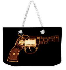 Cowboy Gun 002 Weekender Tote Bag