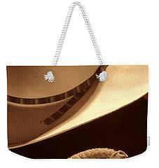 Cowboy Hat And Lasso Weekender Tote Bag