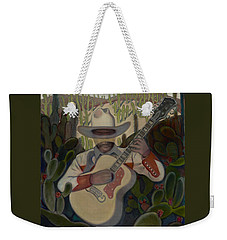 Cowboy In The Cactus Weekender Tote Bag
