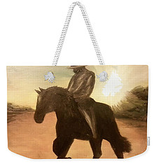 Cowboy On The Range Weekender Tote Bag