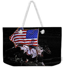 Cowboy Patriots Weekender Tote Bag by Ron White