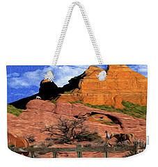 Cowboy Sedona Ver 4 Weekender Tote Bag