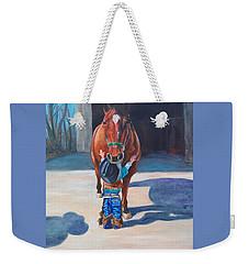 Cowboy's First Love Weekender Tote Bag
