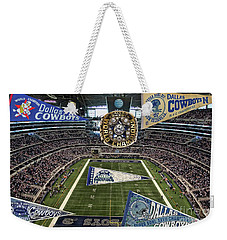 Cowboys Super Bowls Weekender Tote Bag