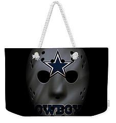Cowboys War Mask 2 Weekender Tote Bag