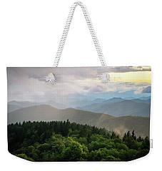 Cowee Mountain Sunset 4 Weekender Tote Bag