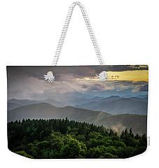 Cowee Mountain Sunset Weekender Tote Bag