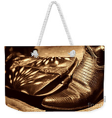 Cowgirl Gator Boots Weekender Tote Bag by American West Legend By Olivier Le Queinec