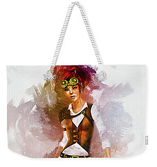 Cowgirl Weekender Tote Bag