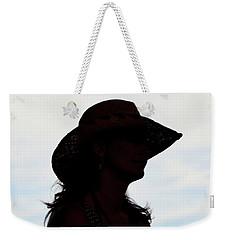 Cowgirl In The Sky Weekender Tote Bag