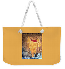 Cowgirl Saddle Weekender Tote Bag
