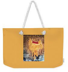 Cowgirl Saddle Weekender Tote Bag