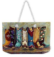 Cowgirls Kickin The Blues Weekender Tote Bag