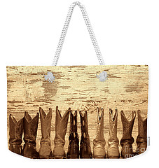 Cowgirls Night Out Weekender Tote Bag by American West Legend By Olivier Le Queinec