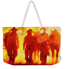 Cowpeople Weekender Tote Bag by Caito Junqueira