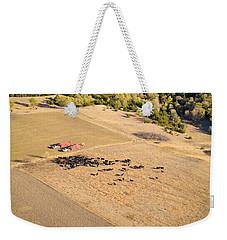 Cows And Trucks Weekender Tote Bag