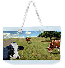 Cows In Field, Ver 4 Weekender Tote Bag