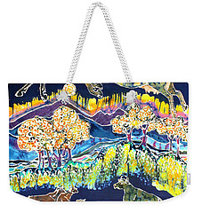 Cows Jumping Over The Moon Weekender Tote Bag