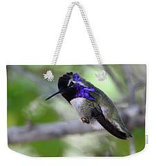 Coy Costa's Hummingbird Weekender Tote Bag