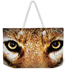 Cyote Eyes Weekender Tote Bag by Adam Olsen