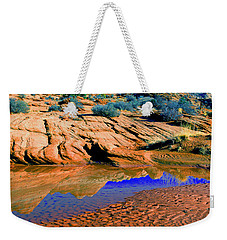 Coyote Buttes Reflection Weekender Tote Bag