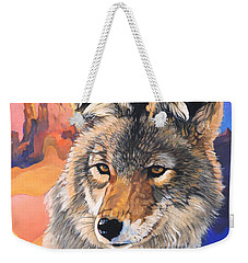 Coyote The Trickster Weekender Tote Bag