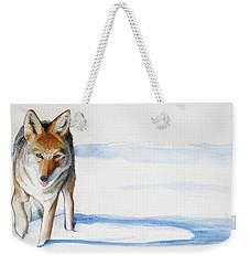 Coyote Trot Weekender Tote Bag