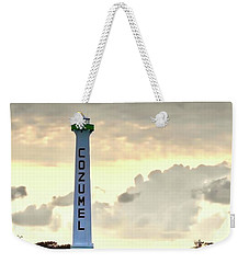 Cozumel Lighthouse Weekender Tote Bag