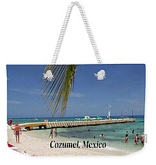 Weekender Tote Bag featuring the photograph Cozumel Mexico by Gary Wonning