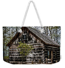 Cozy Cabin Weekender Tote Bag by Joann Copeland-Paul