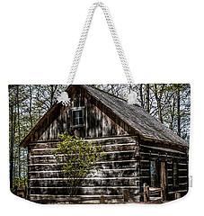 Cozy Cabin Weekender Tote Bag