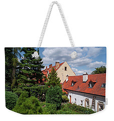 Weekender Tote Bag featuring the photograph Cozy Prague by Jenny Rainbow