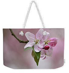 Crab Apple Blossoms Weekender Tote Bag