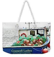 Crab Boat Weekender Tote Bag