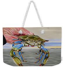 Crab Fingers Weekender Tote Bag