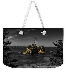 Crab Rock Weekender Tote Bag