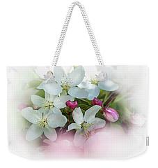 Crabapple Blossoms 3 - Weekender Tote Bag